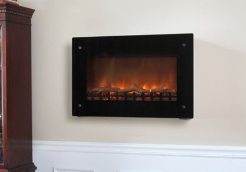 Well Traveled Living 60757 Black Wall Mounted Electric