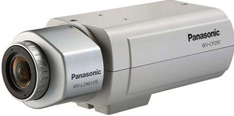 "Panasonic WV-CP290 Day/Night Surveillance Camera, 1/3"" CCD ..."