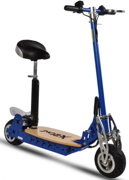 Kid S Electric Scooter 300 Watts 24 Amps Volts 3 Large 10 Amp Batteries Aluminum Mag Wheels Tire Size Up To 20 Mph Sd