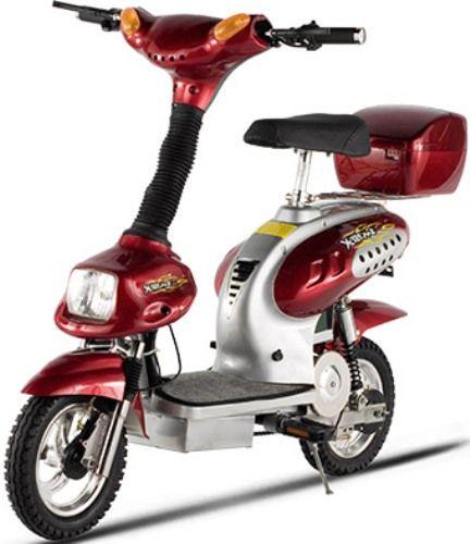 X Treme Xb 562 Electric Bicycle Burgundy 500 Watt Motor 3 Heavy