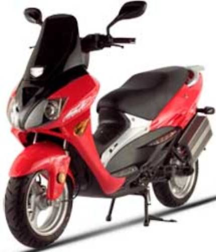 X-Treme XM-5000Li RED Lithium Electric Moped, 5000 Watts, 100 Amps ...