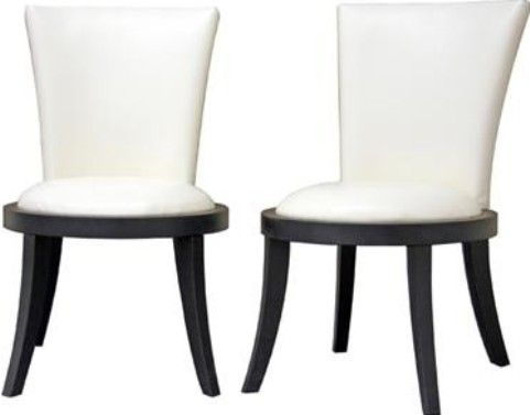 Wholesale Interiors Y-931-DU8143 Neptune Off-White Leather Modern