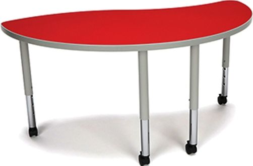 OFM YING-SLC-RED Adapt Series Ying table with Casters, Height adjustment of 20