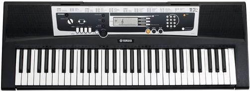 Yamaha ypt 210 remanufactured portable keyboard with for Yamaha learning keyboard