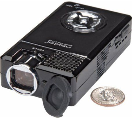Nextar z10 micro projector with mp4 player 640 x 480 for Micro video projector