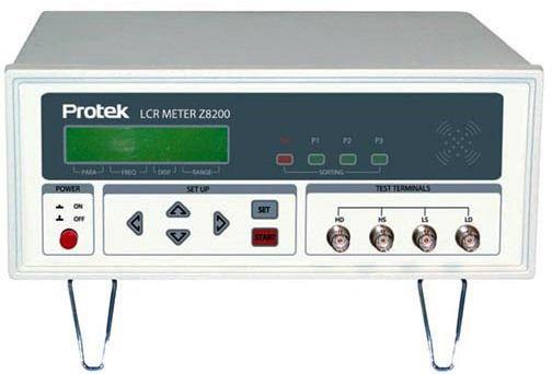 Lcr Meter High Voltage : Protek z bench lcr meter ac voltage input v