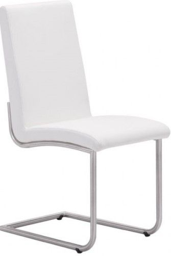Zuo Modern 100132 Mont Royal Dining Chair White Set Of 2 Probably The Mos