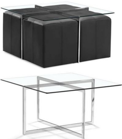 Zuo modern 105000 botero coffee table set perfect for Coffee tables 16 inches high