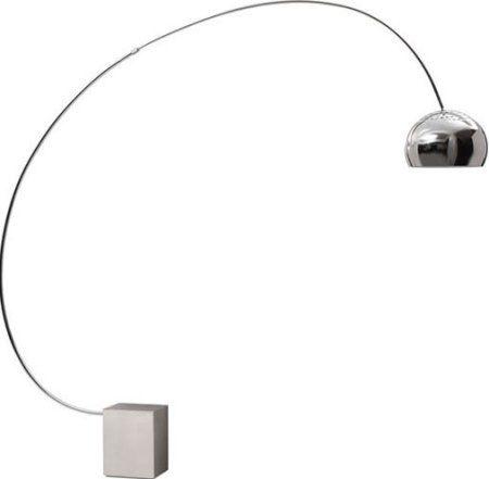 Zuo Modern 50024 Gravity Floor Lamp Chrome An Iconic