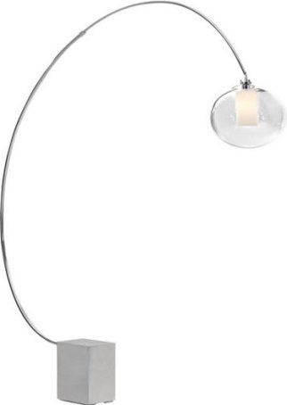 Zuo Modern 50025 Plasma Floor Lamp Chrome Can Only Be