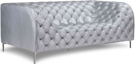 Zuo Modern 900278 Providence Sofa Silver Like A Grand