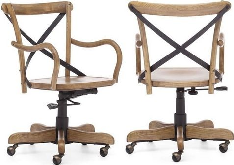 Zuo Modern 98031 Union Square Office Chair, Natural, Adjustable ...