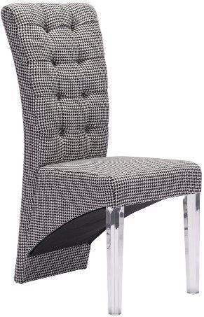 Zuo Modern 98378 Waldorf Dining Chair Houndstooth (Set of ...