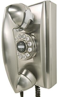 Crosley Cr 55bc 302 Wall Phone 1940 Style Single Line