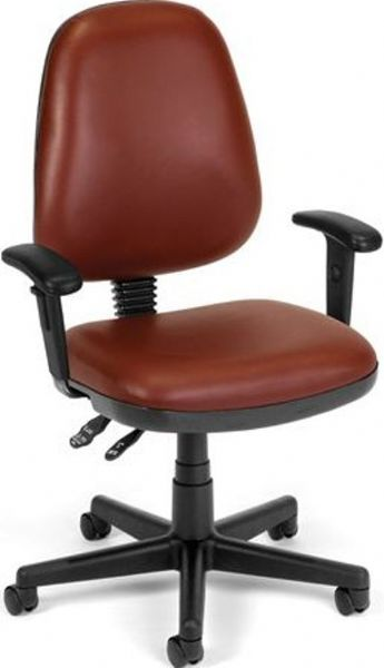 Enjoyable Ofm 119 Vam Aa W Office Chairs Adjustable Task Vinyl Chair Dailytribune Chair Design For Home Dailytribuneorg