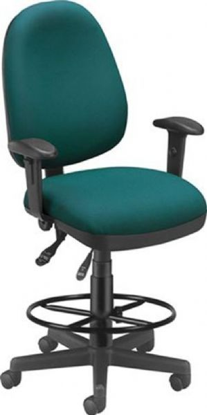 OFM 122-DK-802 Computer Task Chair with Drafting Kit, 3