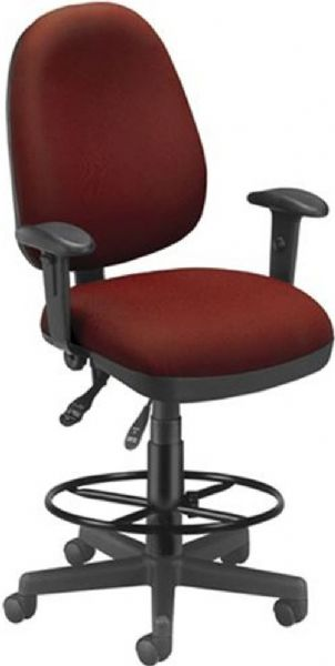 OFM 122-DK-803 Computer Task Chair with Drafting Kit, 3