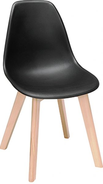 OFM 161-P18B-BLK 161 Collection Mid Century Modern 18