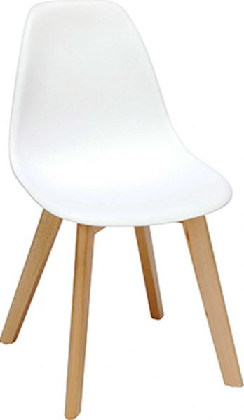 OFM 161-P18B-WHT 161 Collection Mid Century Modern 18