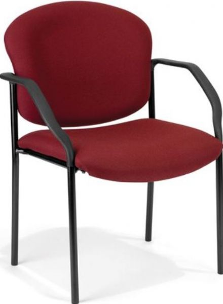 OFM 404-803 Guest Reception Stacking Stack Stackable Chair, 18