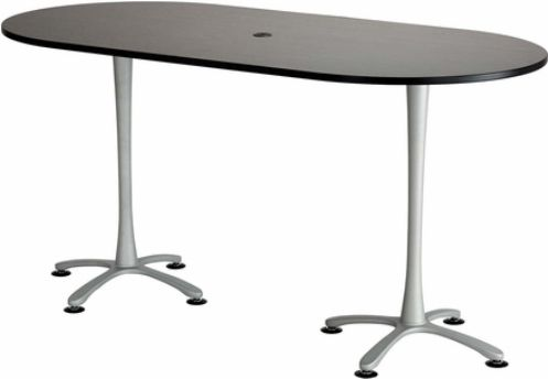 Safco 2553ANSL Cha-Cha Bistro-Height Teaming Table, All tops have 1