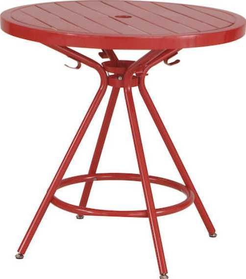 Safco 4362RD CoGo Steel Outdoor/Indoor Round Table, 36.25
